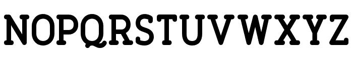 FinalistRoundSlab-75Bold Font UPPERCASE