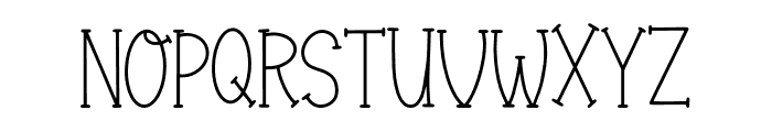 Finally Champions Font Regular Font UPPERCASE