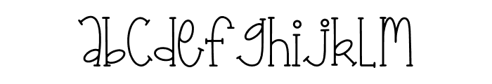 Finally Champions Font Regular Font LOWERCASE