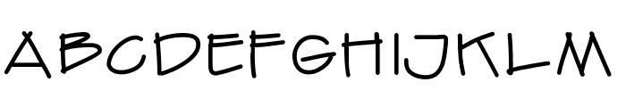 Finetrace Font UPPERCASE