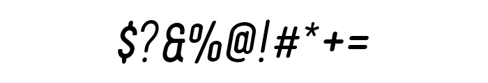 FinlandRounded-Italic Font OTHER CHARS