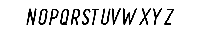 FinlandRounded-Italic Font UPPERCASE