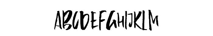 Firecracker-Regular Font UPPERCASE