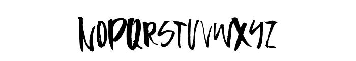 Firecracker-Regular Font LOWERCASE