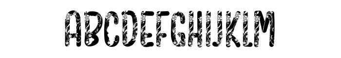Floral Design Font UPPERCASE