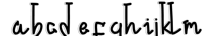 Flower Island Font LOWERCASE
