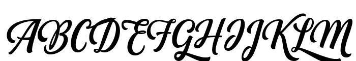 Fonjava Alt Font UPPERCASE