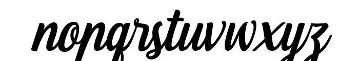Fonjava Alt Font LOWERCASE