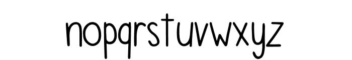 FontFirst Bold Font LOWERCASE
