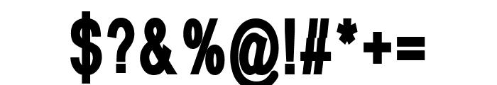 Fonthana Extra Bold Font OTHER CHARS
