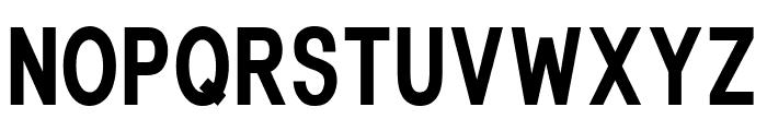 Fonthana Extra Bold Font LOWERCASE