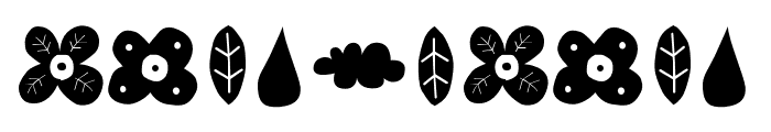 ForestPuyehueDingbat Font OTHER CHARS