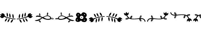 ForestPuyehueDingbat Font LOWERCASE