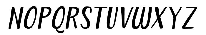 ForestPuyehueItalic Font UPPERCASE