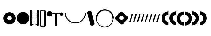 FormaDingbatTwo Font LOWERCASE