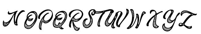Fountain-Rough Font UPPERCASE