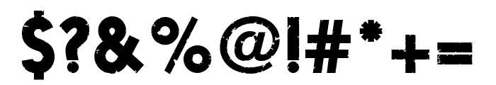 Fragile Font OTHER CHARS