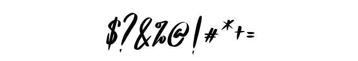 Frances Italic Font OTHER CHARS