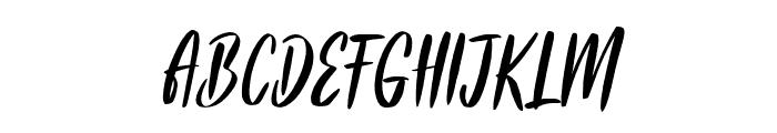 Frances Italic Font UPPERCASE