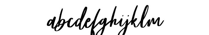 Frances Italic Font LOWERCASE