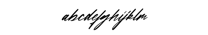 Francestha Font LOWERCASE