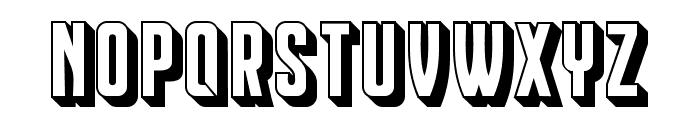Franchise Regular Font UPPERCASE