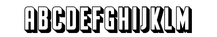 Franchise Regular Font LOWERCASE