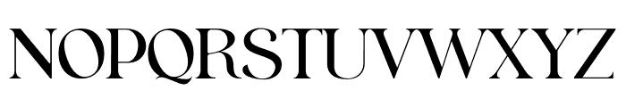 Fraternite Font UPPERCASE