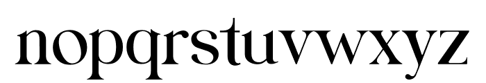 Fraternite Font LOWERCASE