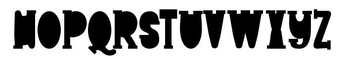 Freaky DIS Regular Font UPPERCASE