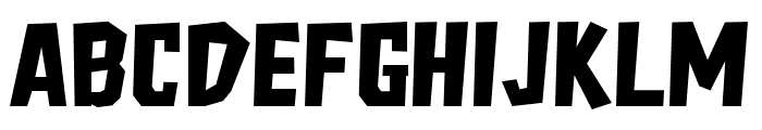 Freich Font UPPERCASE