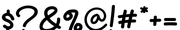 Fresh Kiwi Font OTHER CHARS