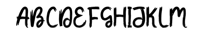 Fresh Tomato Font UPPERCASE