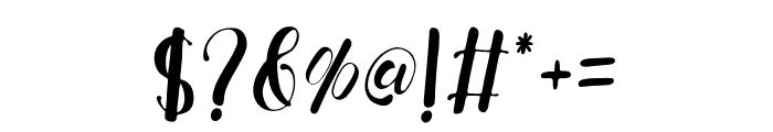 FreshHansler Font OTHER CHARS