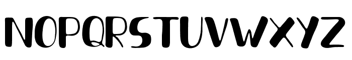 FreshHanslerDuo Font LOWERCASE