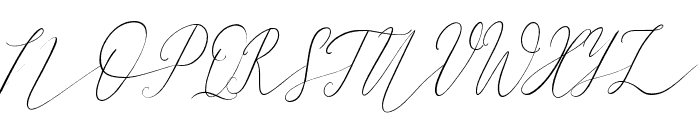 Friday Feeling Regular Font UPPERCASE