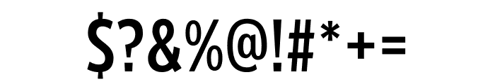 Froadmile Condensed Font OTHER CHARS
