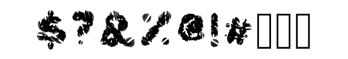 Frost Font OTHER CHARS