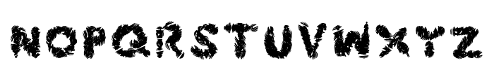 Frost Font UPPERCASE