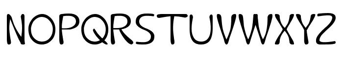 Fruit Vegetable Font UPPERCASE
