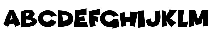 Funhouse Font UPPERCASE
