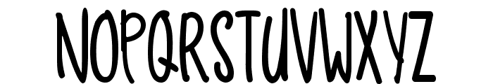 Funny Dino Font UPPERCASE