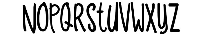 Funny Dino Font LOWERCASE