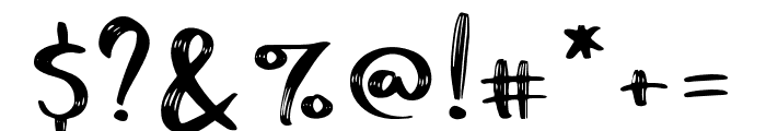 Funtery Regular Font OTHER CHARS