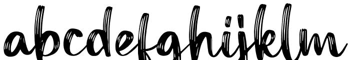 Funtery Regular Font LOWERCASE