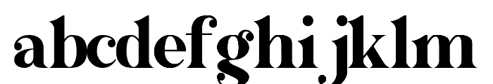 GALONE Font LOWERCASE