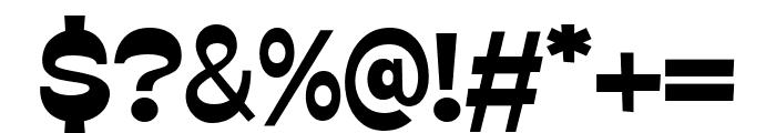 GO BOY Regular Font OTHER CHARS
