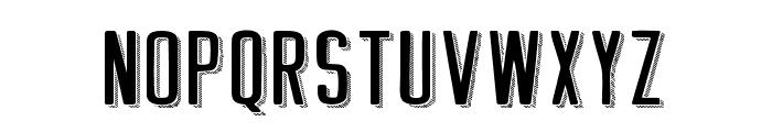 GREETHINGSHADOWLINE Font UPPERCASE