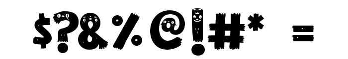 GUAKALA Font OTHER CHARS