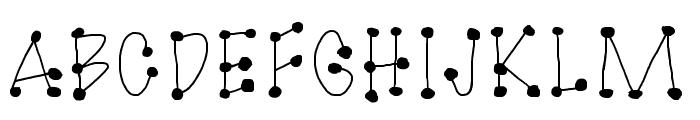 GaGooPro-NormalRegular Font UPPERCASE